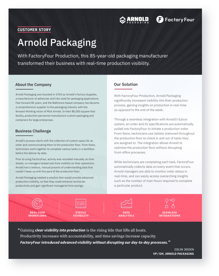 Arnold Packaging Doc